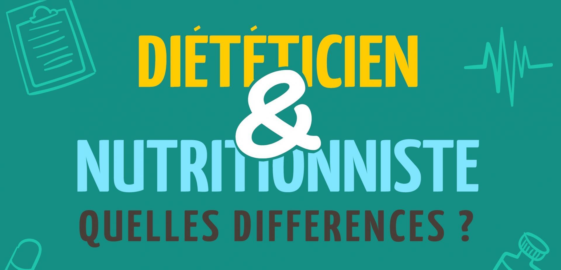 Diététicien ou Nutritionniste : Quelle différence ?
